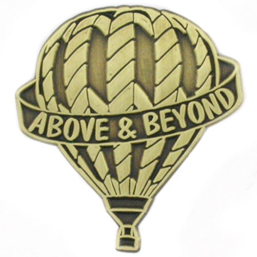 PinMart Above and Beyond Corporate Recognition Lapel Pin