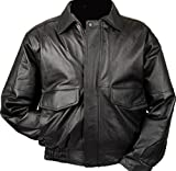 Product review for Burk's Bay Men's Napa Leather Flight Jacket