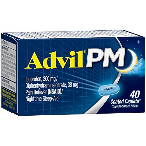 Advil Reliever Nighttime Ibuprofen Diphenhydramine product image