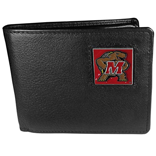 - NCAA Maryland Terrapins Leather Bi-fold Wallet
