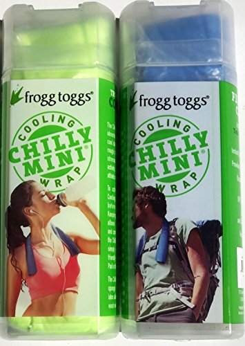 Cooling Towel Neck Wrap Chilly Mini Frogg Toggs Chill Pad (2-Pack) ()