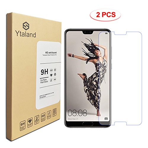[2 Pack] Huawei P20 Pro Screen Protector, Ytaland...