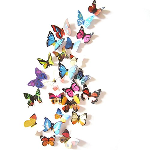 3D DIY Wall Sticker Stickers Butterfly Home Decor Room Decorations New