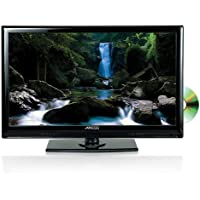 AXESS TVD1801-22 22-Inch 1080p LED HDTV, Features 12V Car Cord Technology, VGA/HDMI/SD/USB Inputs, Built-In DVD Player, Full Function Remote