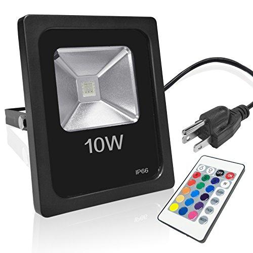 Water Proof LED Flood Light 10W (Black) - 6