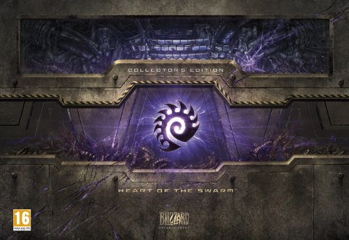 Starcraft II: Heart of the Swarm Collector's Edition (PC/Mac DVD) (Starcraft Ii Heart Of The Swarm Collectors Edition)