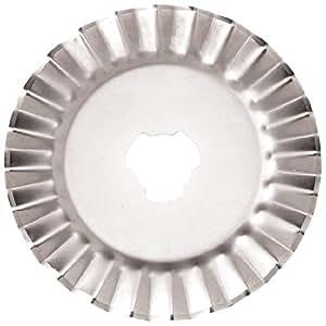 Fiskars 93518097J, Decorative Rotary Blades, Pinking, 45mm