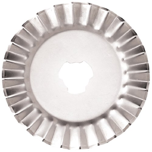 Fiskars 93518097J Decorative Rotary Replacement Pinking Blade, 45mm
