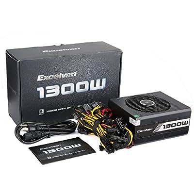 Excelvan ATX Computer Power Supply Desktop PC for Intel AMD PC SATA US from Excelvan