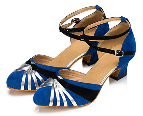 TDA - Zapatos de tacón  mujer 4.5cm Heel Blue