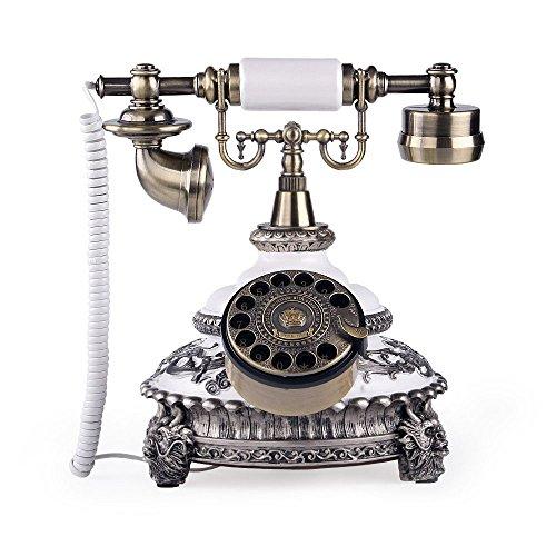 vintage rotary telephone - 7