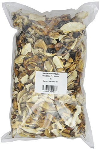 Гриб Дом сушеные грибы, перемешать Фрай Blend, 1-фунтовая