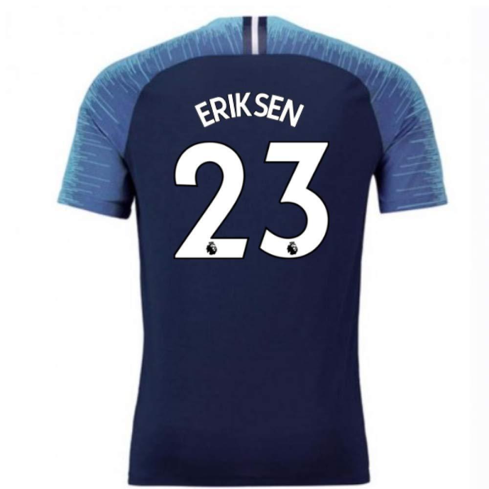 2018-2019 Tottenham Vapor Match Away Nike Football Soccer T-Shirt Trikot (Christian Eriksen 23)