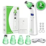 blackhead Blackhead Remover Vacuum - Electric Pore Vacuum Cleaner Blackhead Extractor Tool Device Comedo Removal Suction Microdermabrasion Machine Beauty Device with LED Display for Facial Skin Treatment