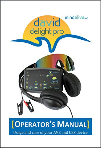 DAVID Delight Pro Mind Alive - Best device for Brain Training, Meditation, Relaxation, Sleep, Mood, Mental Clarity. Increased Academic and Sports Performance