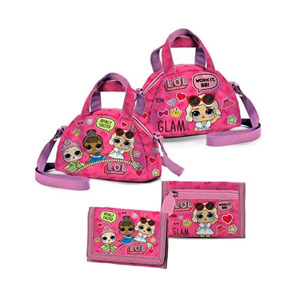 rivenditore di vendita f01c5 c9f0e LOL Surprise Kit LOL Surprise Borsa Tracolla Bowling e Portafoglio B99129