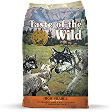 Taste of the Wild Grain Free High Protein Dry Dog Food High Prairie PUPPY - Venison & Bison