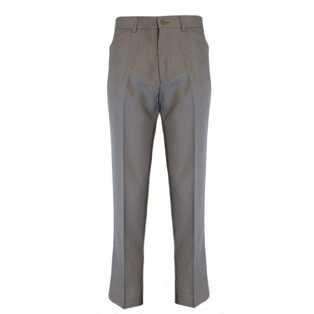 FARAH Mens Classic Vintage Hopsack Retro Mod Trousers