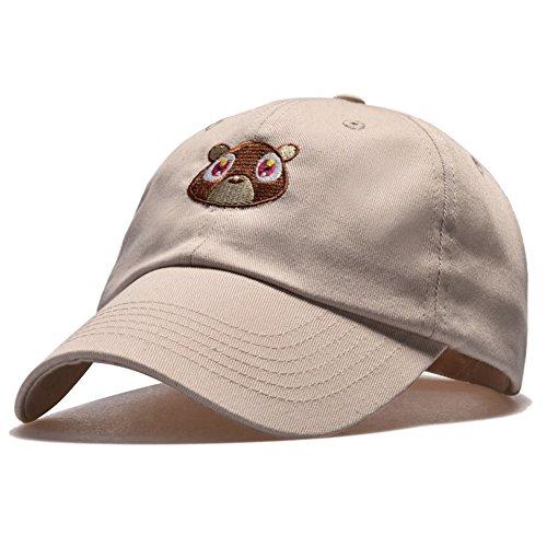ShiningLove Unisex Outdoor Casual Sun Protected Dropout Bear Baseball Cap  Snapback Hat 943124eaa9e2