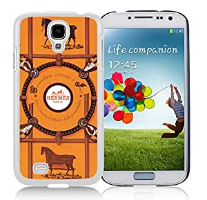 Beautiful Unique Designed Samsung Galaxy S4 I9500 i337 M919 i545 r970 l720 Cover Case With Hermes 10 White Phone Case