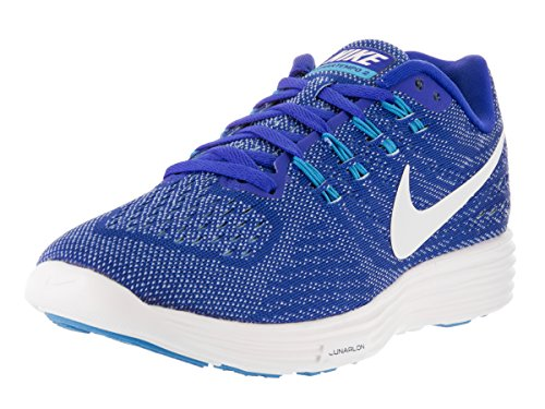 Nike Vrouwen Lunartempo 2 Loopschoen Racer Blauw / Wit Blcp Bl Glow