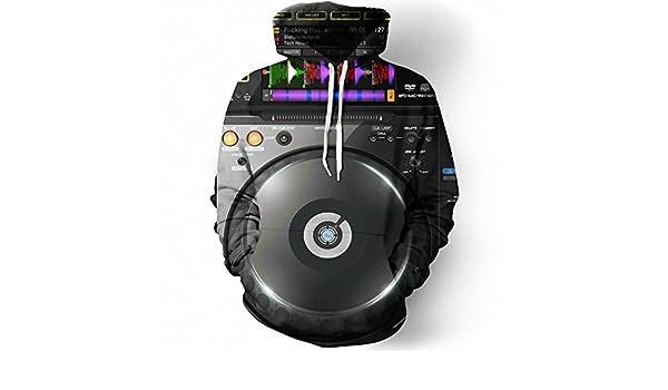 Audio Editor Mixer Dj 3D Mens Hoodies Sudadera Hombre Clothing Casual Hip Hop Pullover Hooded Sweatshirt Dropship hoodies men 6XL at Amazon Mens Clothing ...