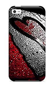 Faddish Girl Boy Loves Case Cover For Iphone 5c 2406225K90307098