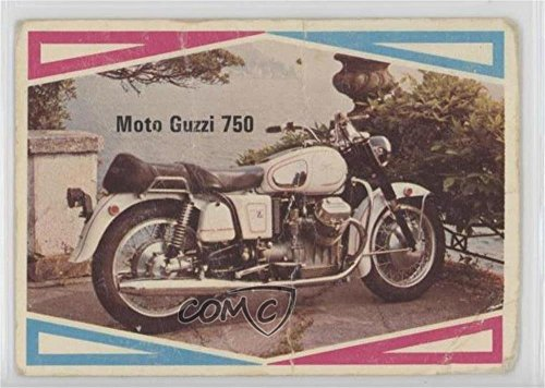 Moto Guzzi 750 COMC REVIEWED Poor (Trading Card) 1972 Donruss Choppers and Hot Bikes - [Base] #35