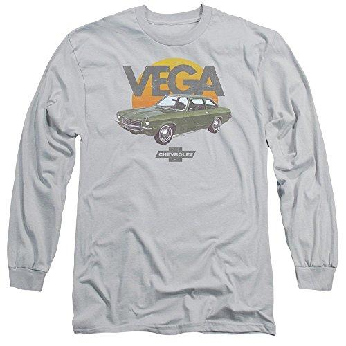Vega Sunshine Distressed Print -- Chevrolet Adult Long-Sleeve T-Shirt, X-Large Chevrolet Long Sleeve T-shirt