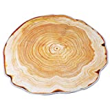 Dolland Non-Slip Tree Trunk Area Rug Pads Round Shaped Backing Carpet Mats For Office Bedroom Kitchen Hallway Doorway