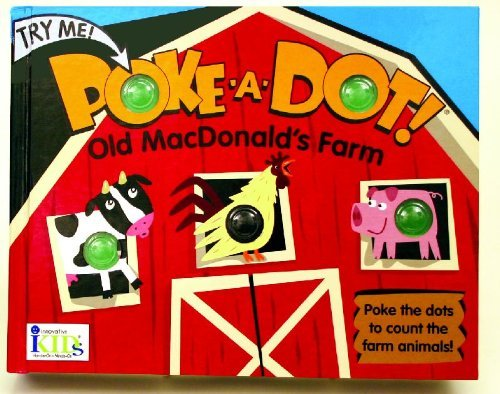 By IKids Poke-a-Dot: Old MacDonald's Farm (30 Poke-able Poppin' Dots) (Brdbk)