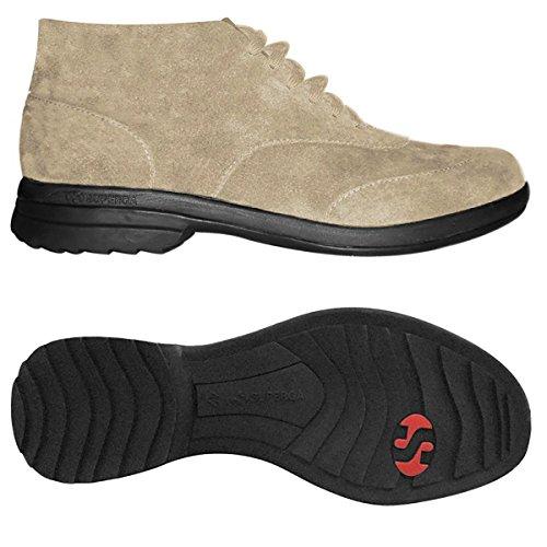 Zapatos allacciate - 4355-suem Beige