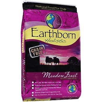 EARTHBORN HOLISTIC Meadow Feast Pet Food, 28-Pound