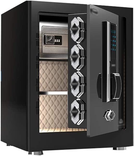 ZYX-Cabinet Safes Safes, Security Digital Home Fire Safety Deposit Box Office Home Hotel Supermarket Bank Deposit Bank Cash Card File Jewelry (Size : 450x310x380mm(2))