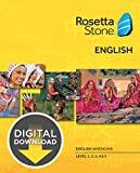 Rosetta Stone English (American) Level 1-5 Set [Download]