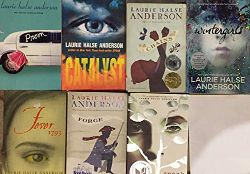 Laurie Halse Anderson Fiction Collection 7 Book Set