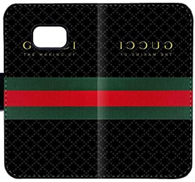 84d87953a025 Gucci E639O Samsung GALAXY S7 Leather Wallet Cell Phone Case BS693 Flip Case  Cover Plastic Protective  Amazon.co.uk  Electronics