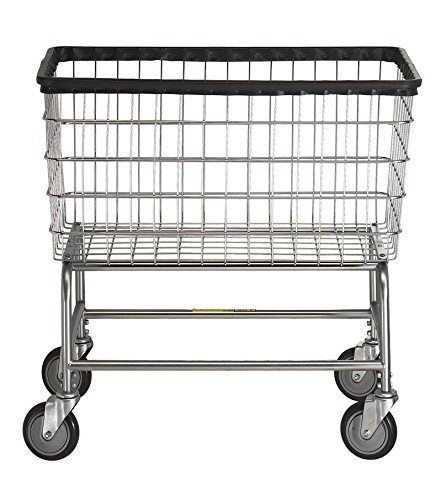 R & B Wire 200F Large Capacity Laundry Cart by R&B Wire Products