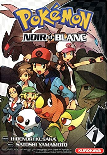 2bd26112035b5 Amazon.fr - Pokémon - Noir et Blanc - tome 01 (1) - Hidenori KUSAKA,  Satoshi YAMAMOTO, Fabien VAUTRIN - Livres