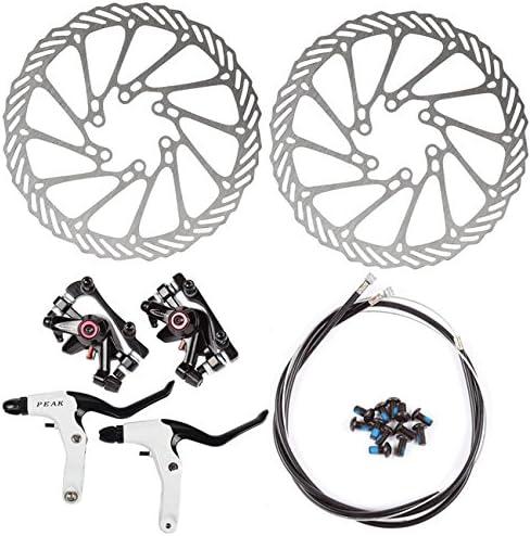 AFTERPARTZ HS1 NV-5 G3 - Frenos de Disco para Bicicleta (Delantero y Trasero, 160 mm, BB5 BB7 5 BB-7): Amazon.es: Deportes y aire libre