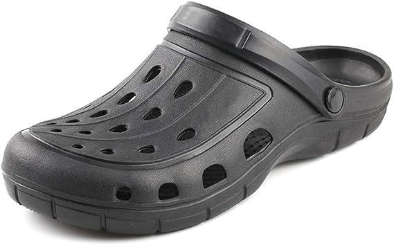 BSTLY Chaussures Trou Femme Pantoufles de Plage été Sandales