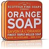 Scottish Fine Soaps Triple Milled Orange Soap for Women, 3.5 Ounce