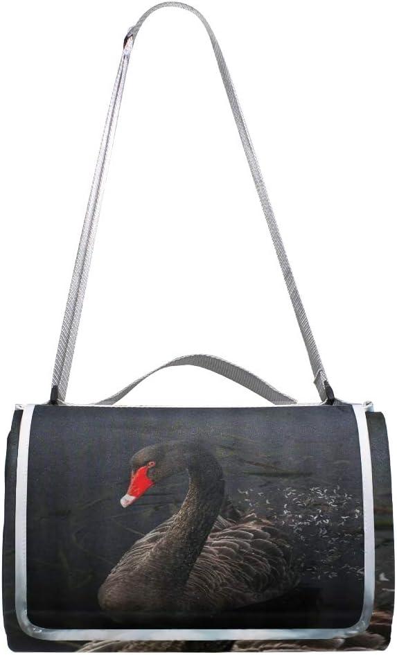 XINGAKA Coperta da Picnic Tappetino Campeggio,Treno Affumicato Nero,Giardino Spiaggia Impermeabile Anti Sabbia 8