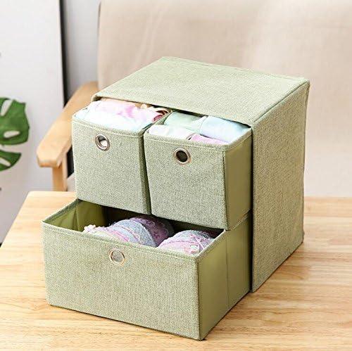 Zhiyuan - Caja organizadora 3 en 1 para papelería y Cinturones: Amazon.es: Hogar
