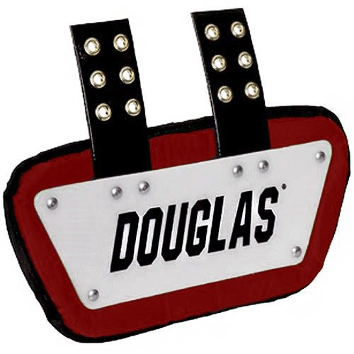 Douglas Custom Pro CP Series Removable Football Back Plate - 6 Inch - ()