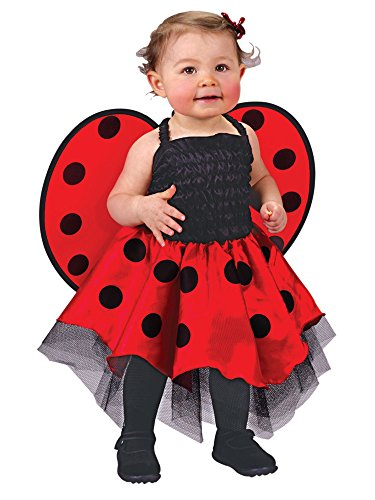 Costume Up Baby (Ladybug Costume Baby One Size Fits Up To 24)
