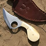 New 7″ Skinner Eco'Gift Limited Edition Sharp Elite Knife Bone Handle Series Hunting Eco'Gift Limited Edition Sharp Elite Knife Sharp