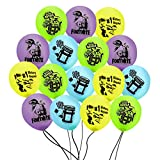 FAT CAT SALES FORTNITE BALLOONS ASSORTED COLORS 16 COUNT