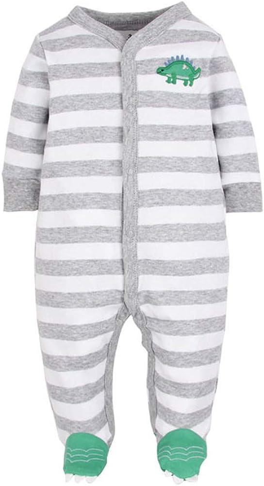 Hellomiko Boy Girl Romper Mono Reci/én Nacido Beb/é Pijamas De Algod/ón Mono De Dibujos Animados Mono Ropa De Beb/é De Invierno