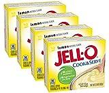 jello lemon pie filling - Jell-O, Cook & Serve, Pudding & Pie Filling, Lemon, 2.9oz Box (Pack of 4)